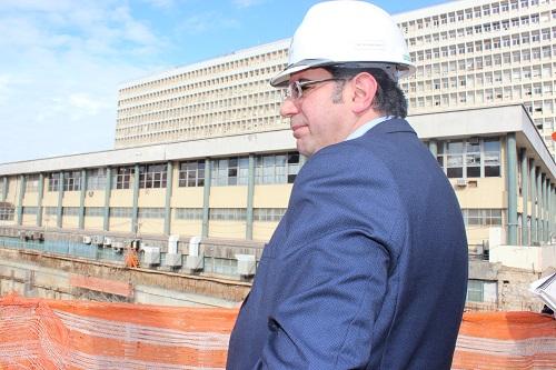 Vice-presidente do CREA-RS, que é funcionário de carreira do HCPA, é o Engenheiro responsável pelas obras de ampliação do complexo hospitalar